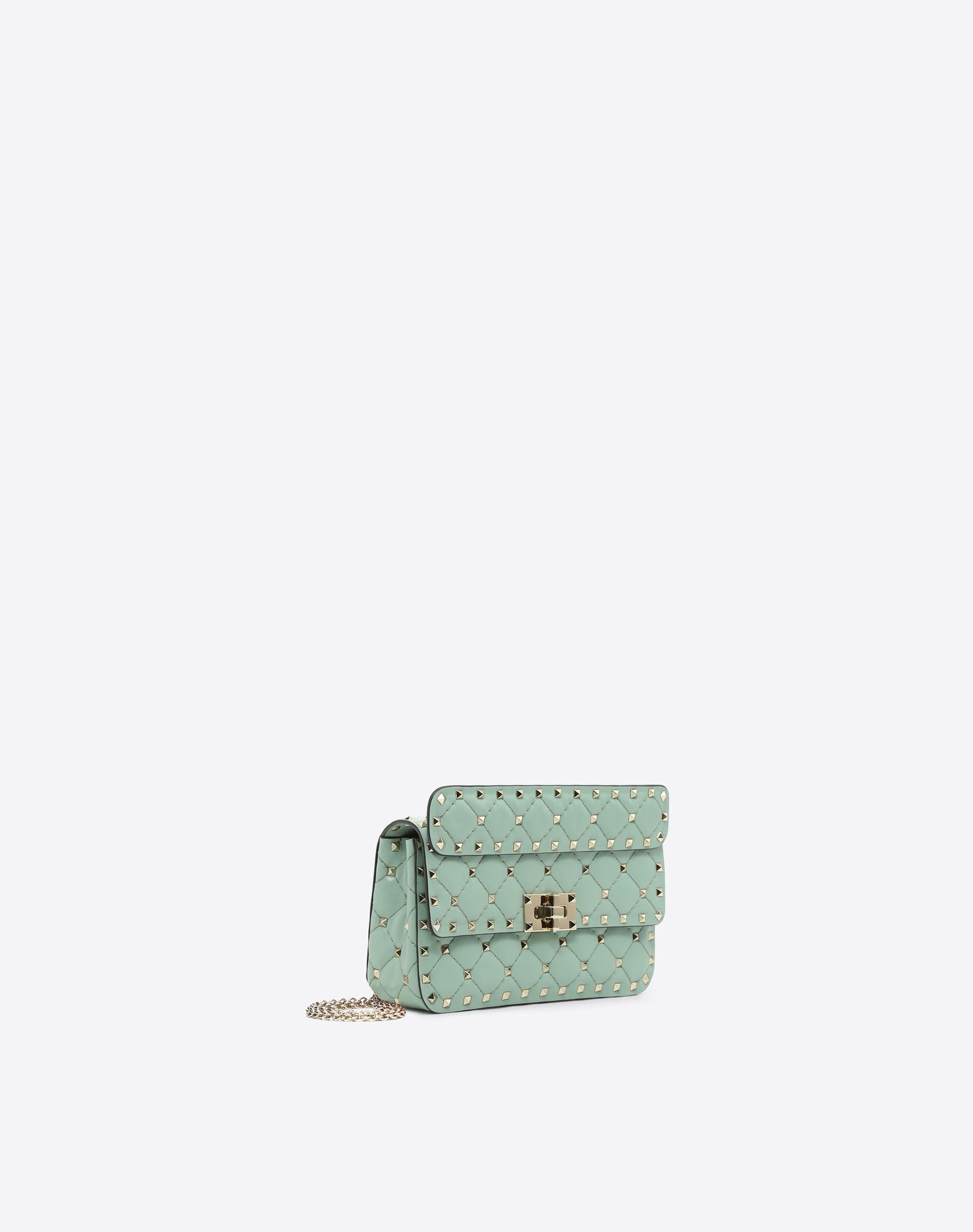 VALENTINO GARAVANI Rockstud Spike Small Chain Bag Shoulder bag D r