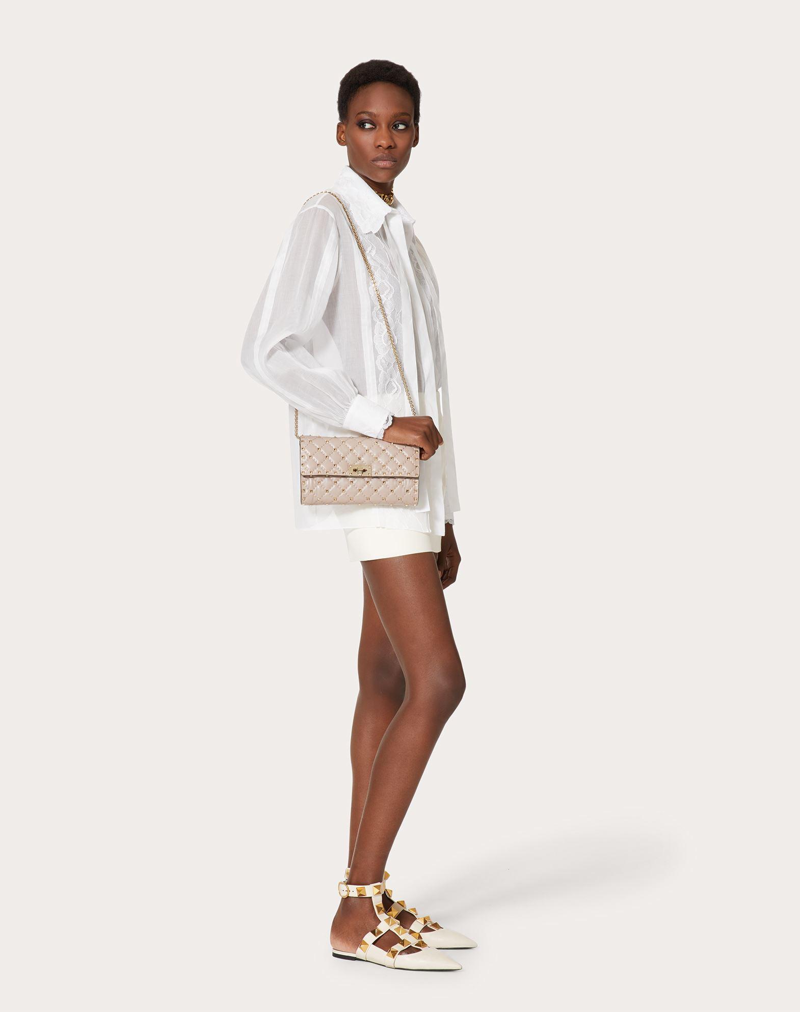 VALENTINO GARAVANI Rockstud Spike Chain Bag Shoulder bag D b