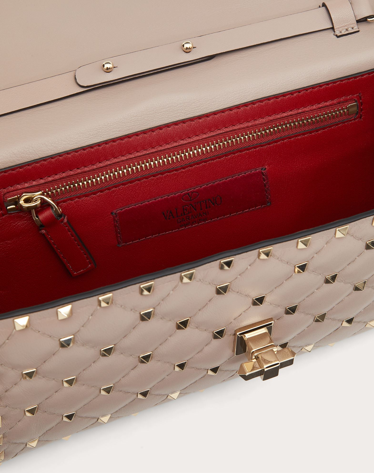 VALENTINO GARAVANI Rockstud Spike Chain Bag Shoulder bag D e