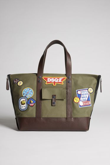 DSQUARED2 Shopping Bag Uomo TTM000388600001M1407 b