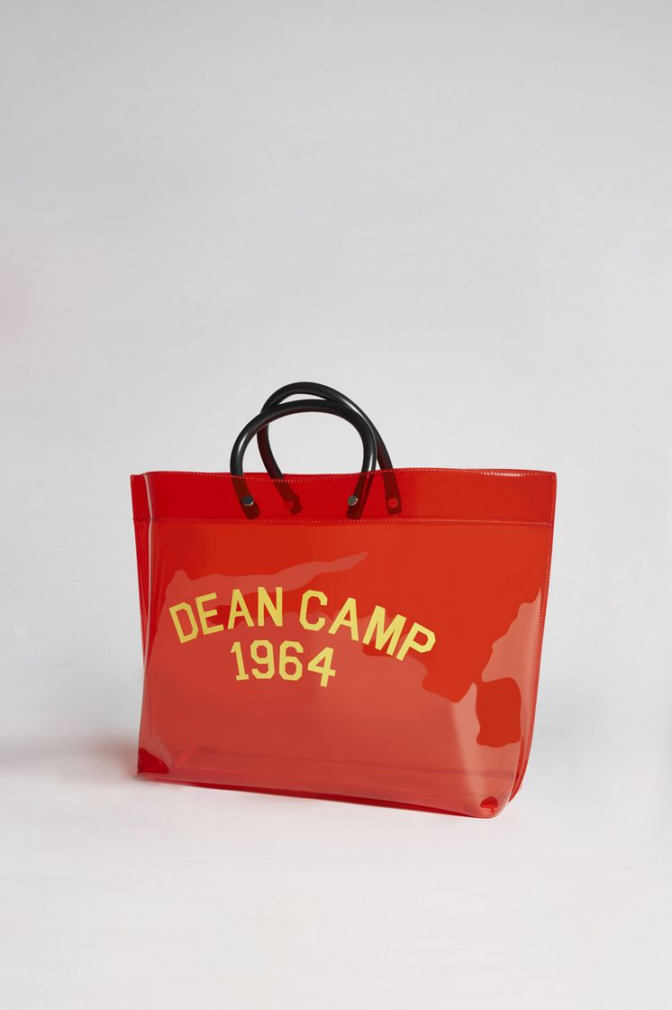 Red shopping bag Dsquared2 b8GyVaKfg