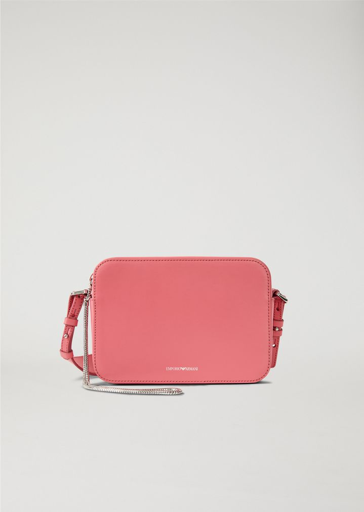 f8d1d7babf Mini Bag mit Trageriemen aus Leder | Damen | Emporio Armani
