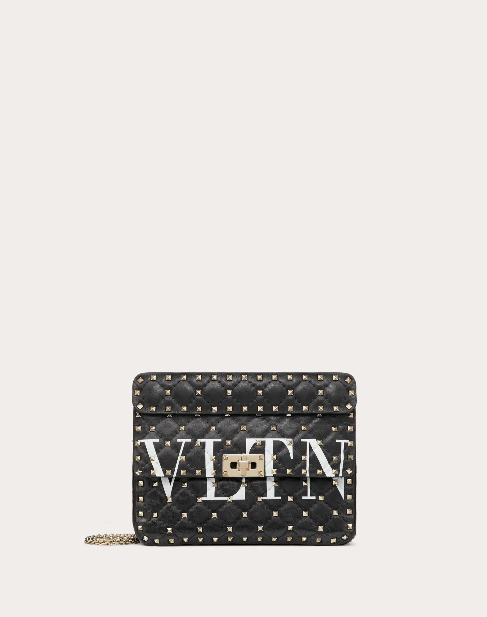 VALENTINO GARAVANI Rockstud Spike.It Medium Chain Bag Shoulder bag D f