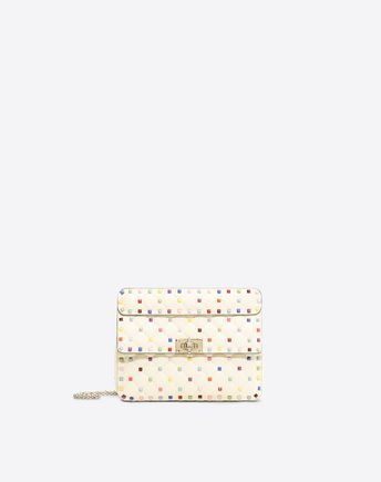 VALENTINO SINGLE HANDLE BAGS D Candystud Top Handle Bag f