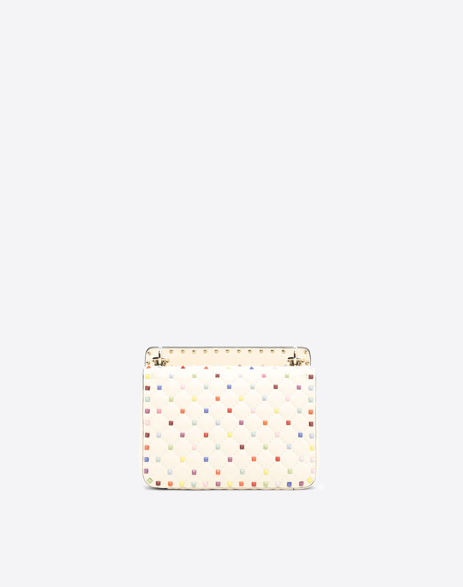 VALENTINO GARAVANI Rockstud Spike Medium Chain Bag Shoulder bag D d
