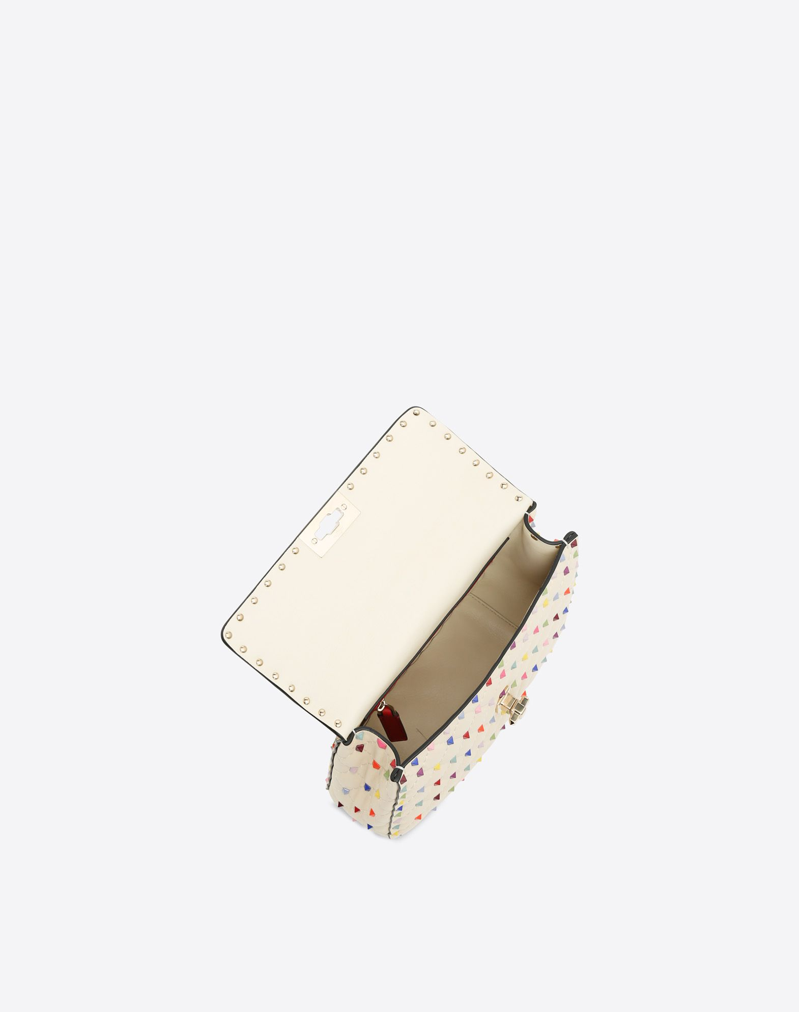 VALENTINO GARAVANI Rockstud Spike Medium Chain Bag Shoulder bag D e