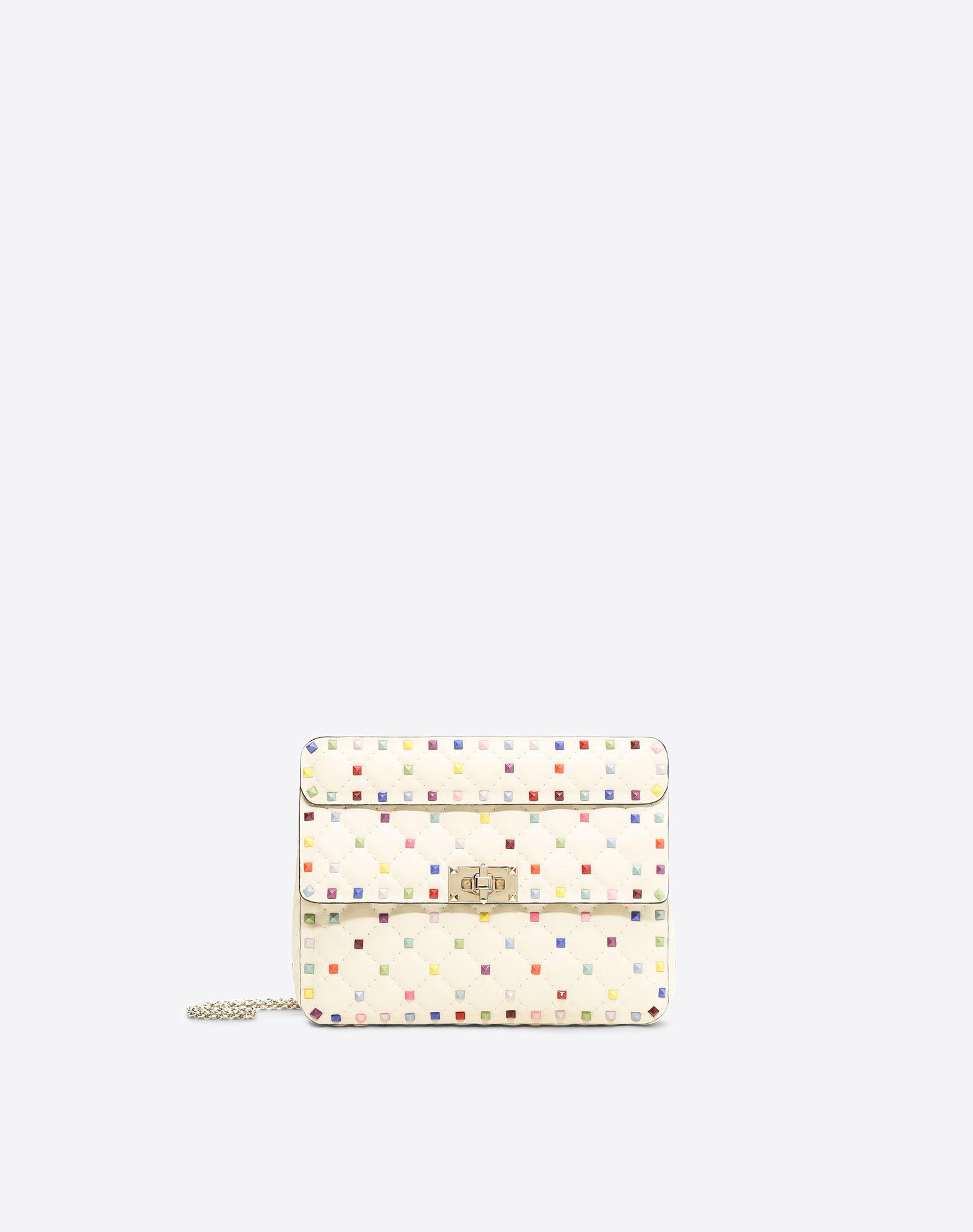 VALENTINO GARAVANI Rockstud Spike Medium Chain Bag Shoulder bag D f