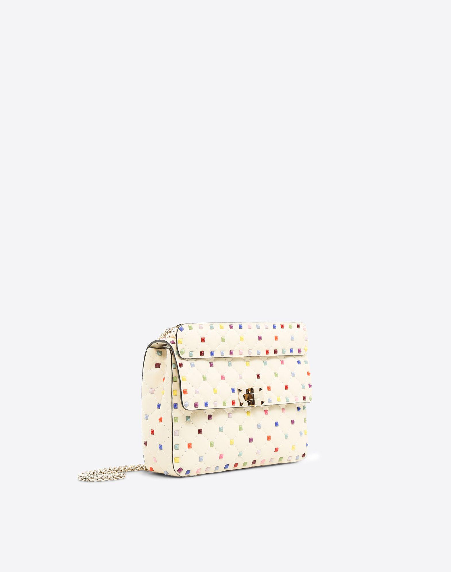 VALENTINO GARAVANI Rockstud Spike Medium Chain Bag Shoulder bag D r