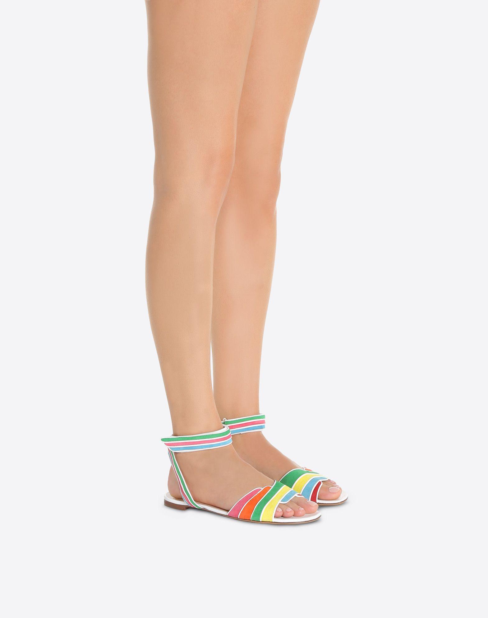 VALENTINO GARAVANI Sandalias multicolores FLAT SANDALS D a
