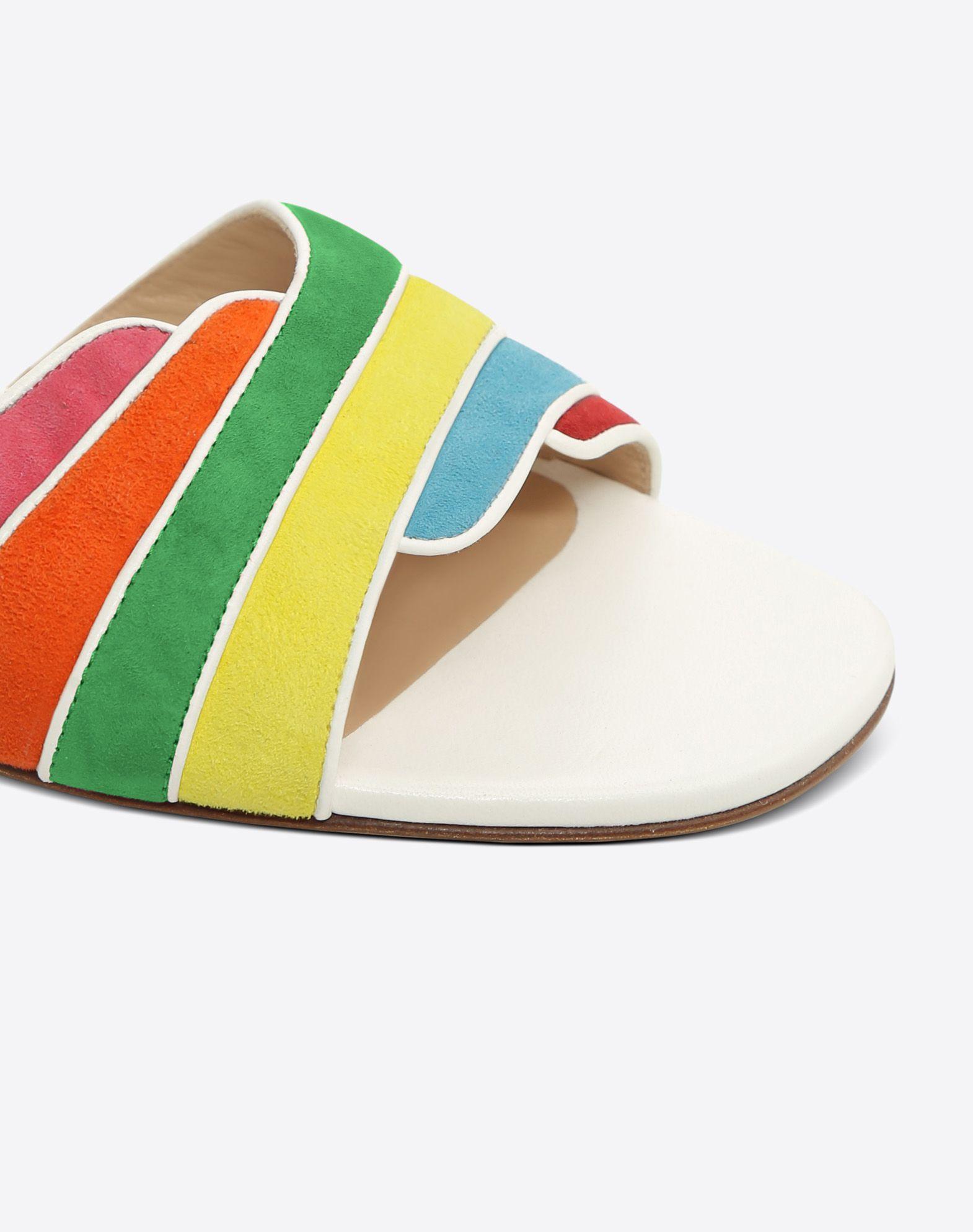 VALENTINO GARAVANI Sandalias multicolores FLAT SANDALS D b