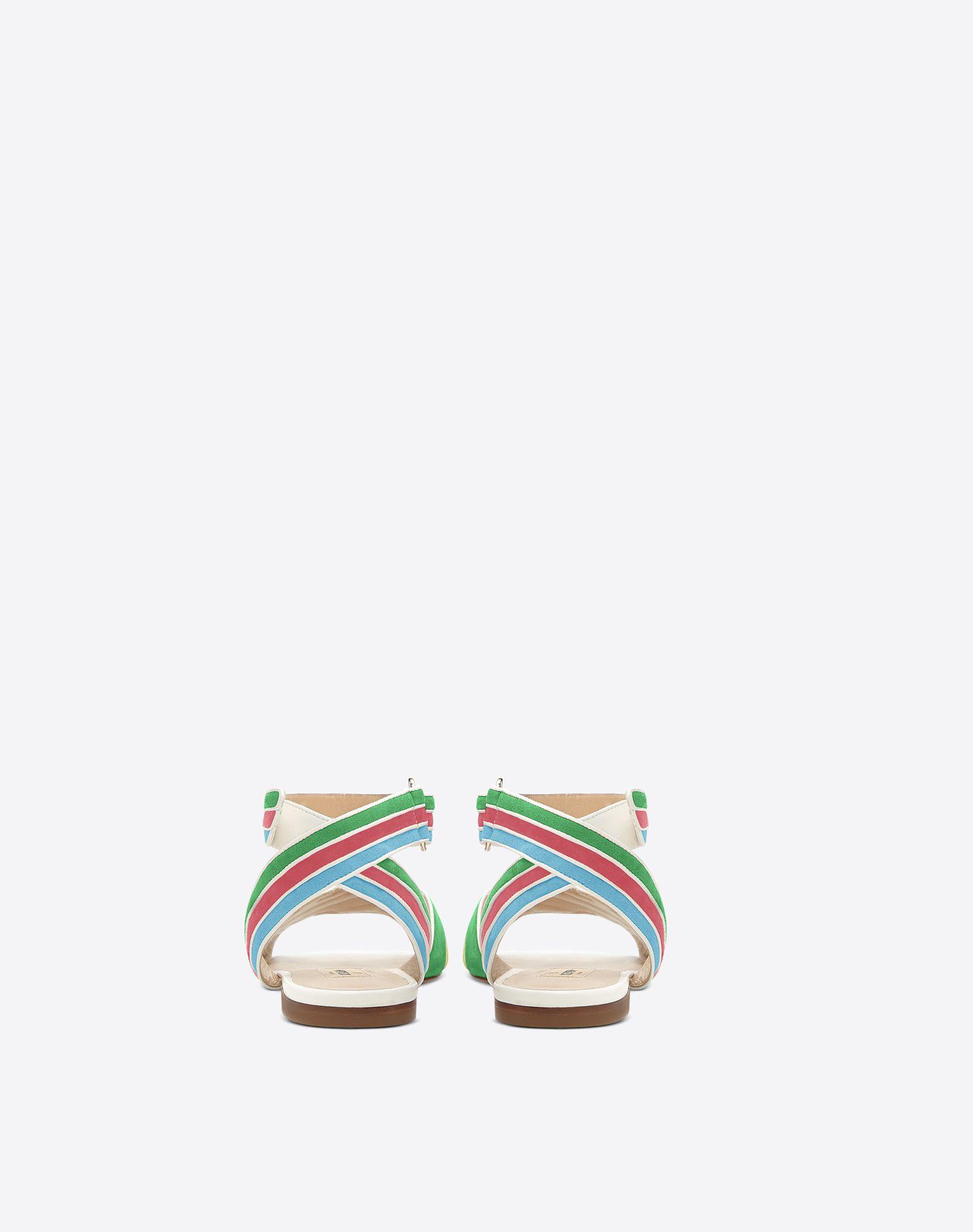 VALENTINO GARAVANI Sandalias multicolores FLAT SANDALS D d