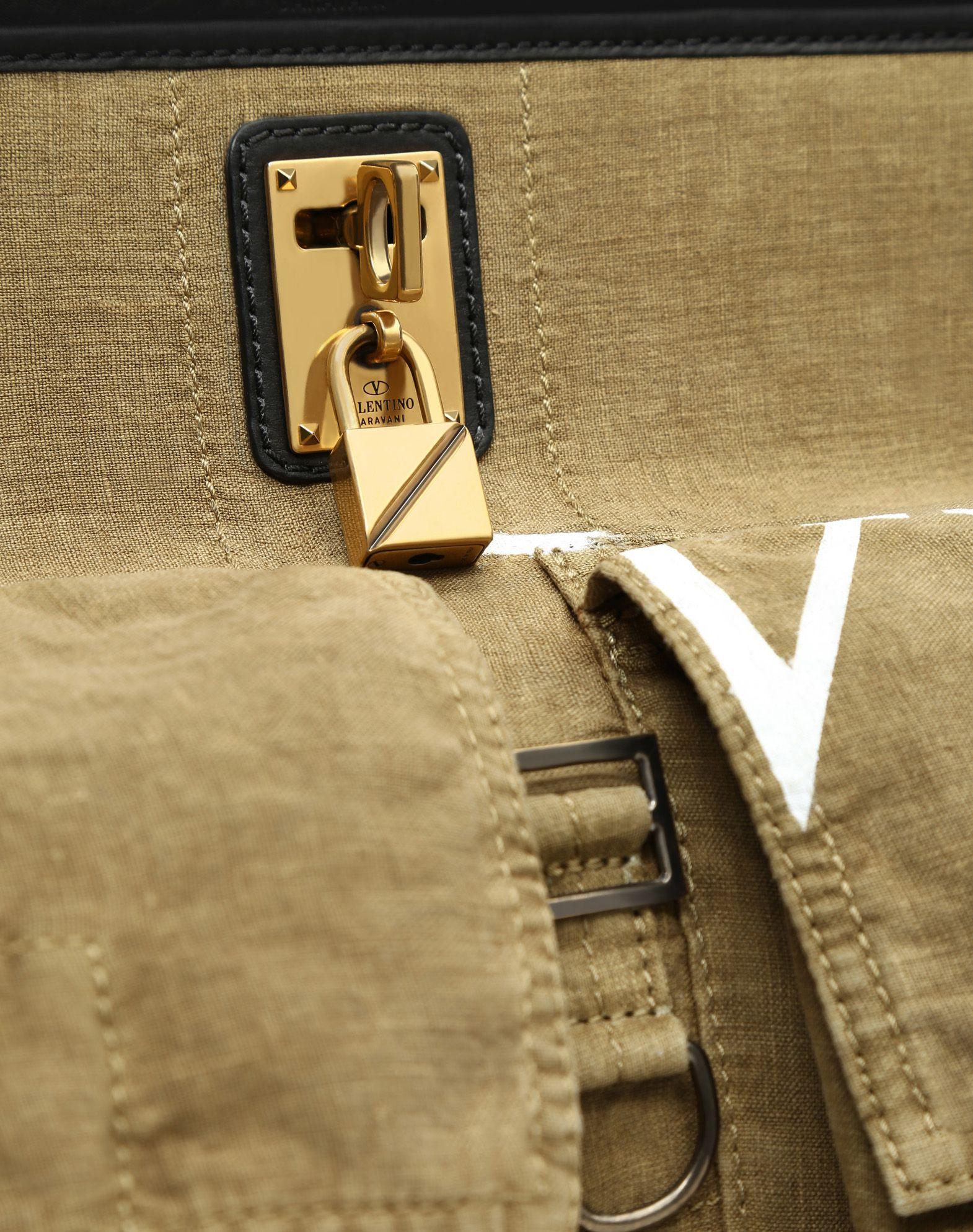 VALENTINO GARAVANI Joylock Maxi Handle Bag HANDBAG D b