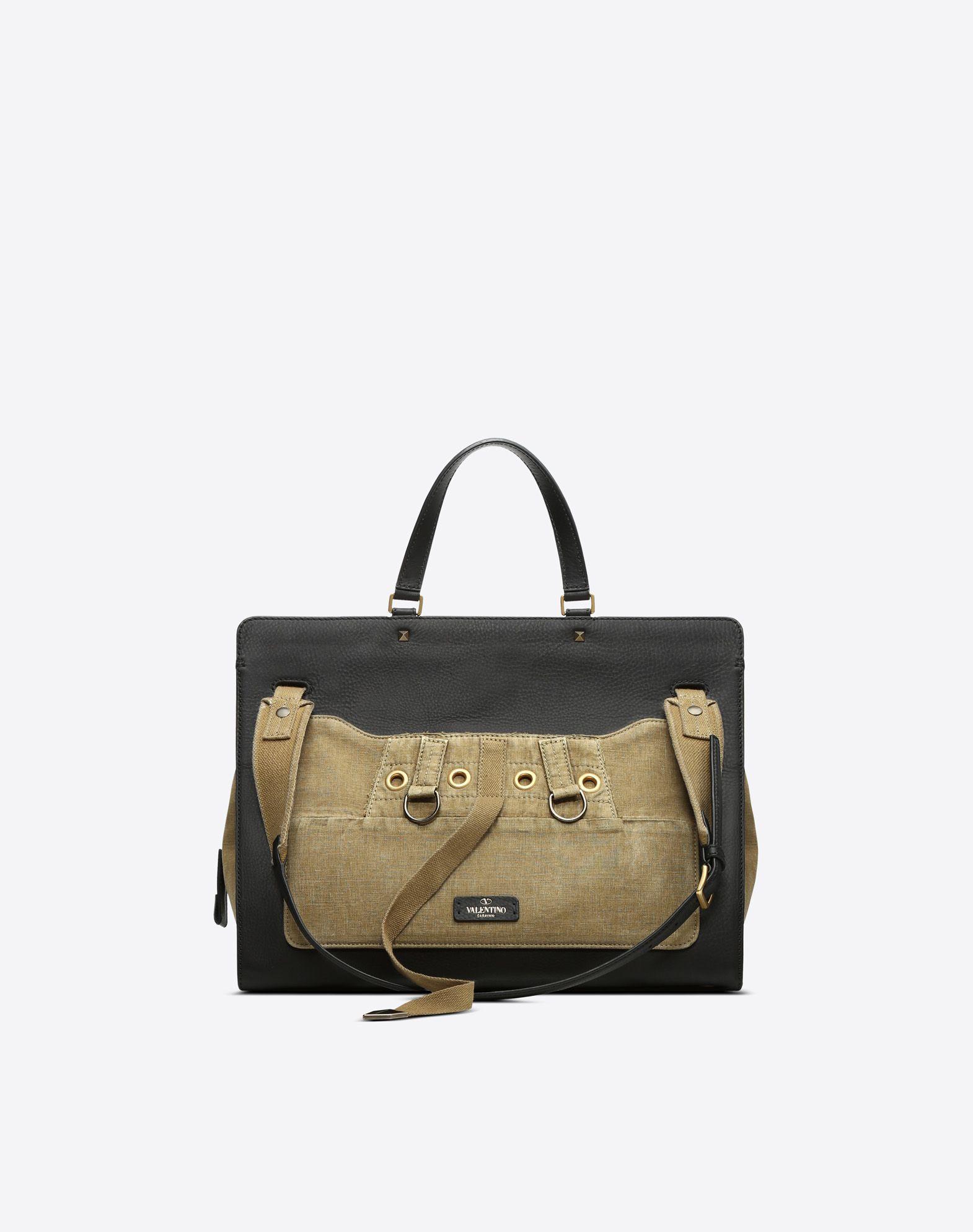 VALENTINO GARAVANI Joylock Maxi Handle Bag HANDBAG D d