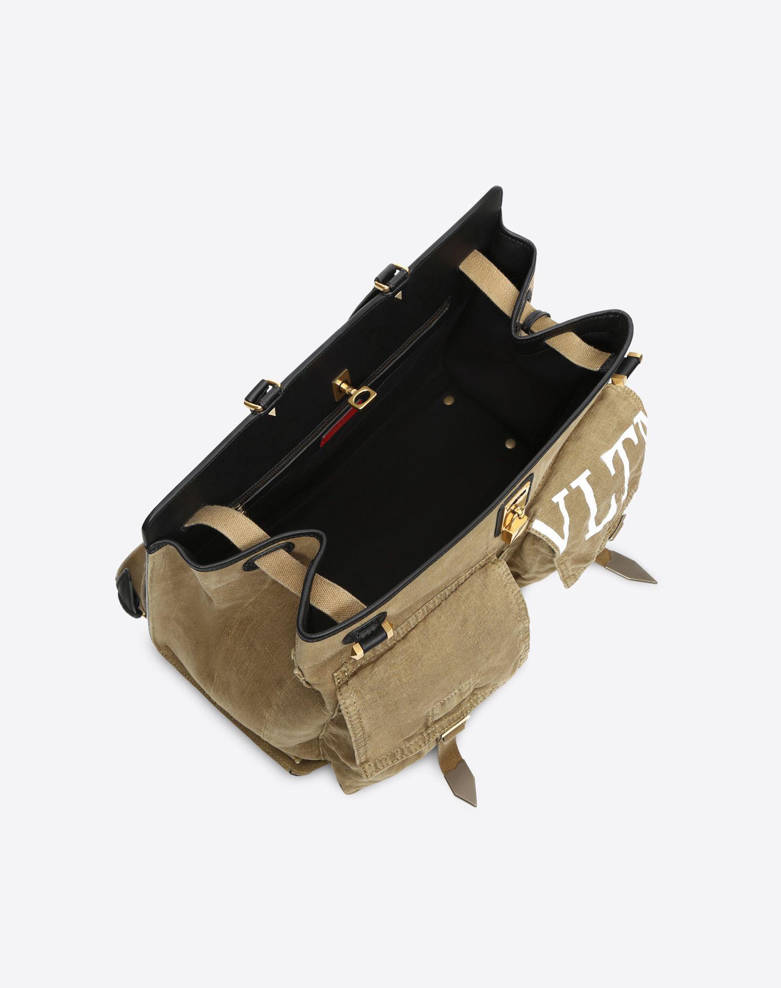 VALENTINO GARAVANI Joylock Maxi Handle Bag HANDBAG D e