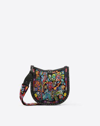 VALENTINO GARAVANI Shoulder bag D Free Rockstud Spike Small Chain Bag f