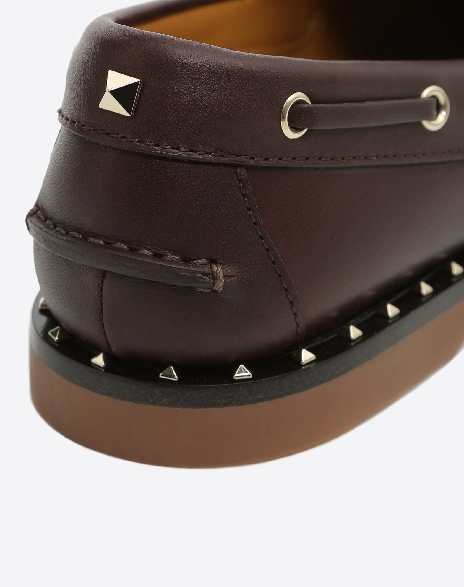 VALENTINO GARAVANI UOMO Soul Rockstud Boat shoes LOAFERS U b