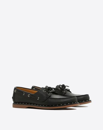 VALENTINO GARAVANI UOMO LOAFERS U Soul Rockstud Boat shoes r