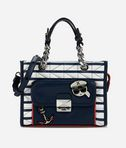 Captain Karl Strip Mini Tote