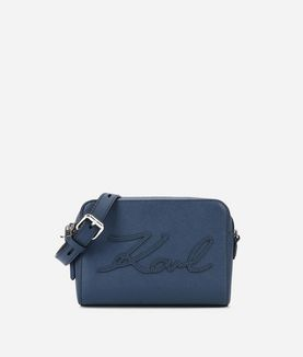 KARL LAGERFELD K/SIGNATURE ESSENTIAL CAMERA BAG