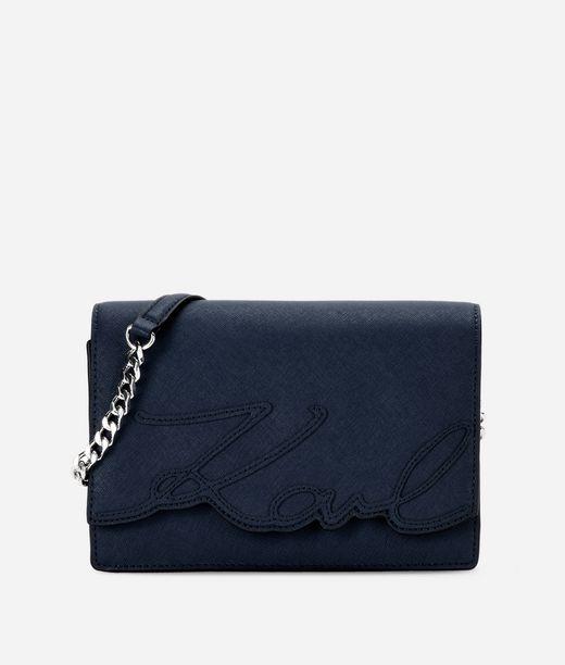 KARL LAGERFELD K/Signature Essential Shoulder Bag 12_f