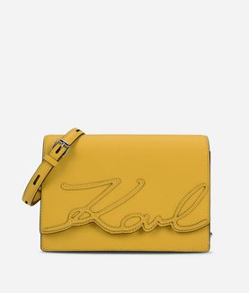 KARL LAGERFELD K/SIGNATURE ESSENTIAL SHOULDER BAG