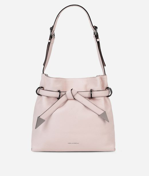 KARL LAGERFELD K/Rocky Bow Small Drawstring Bag 12_f