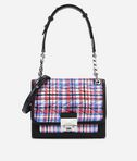 K/Kuilted Tweed Handbag