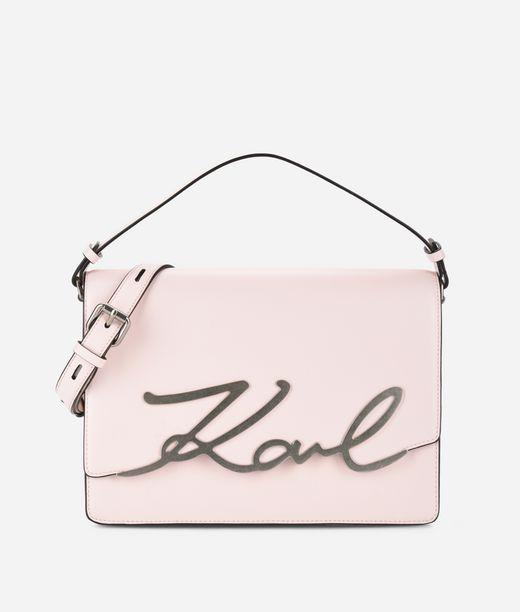 KARL LAGERFELD K/Signature Big Shoulder Bag 12_f