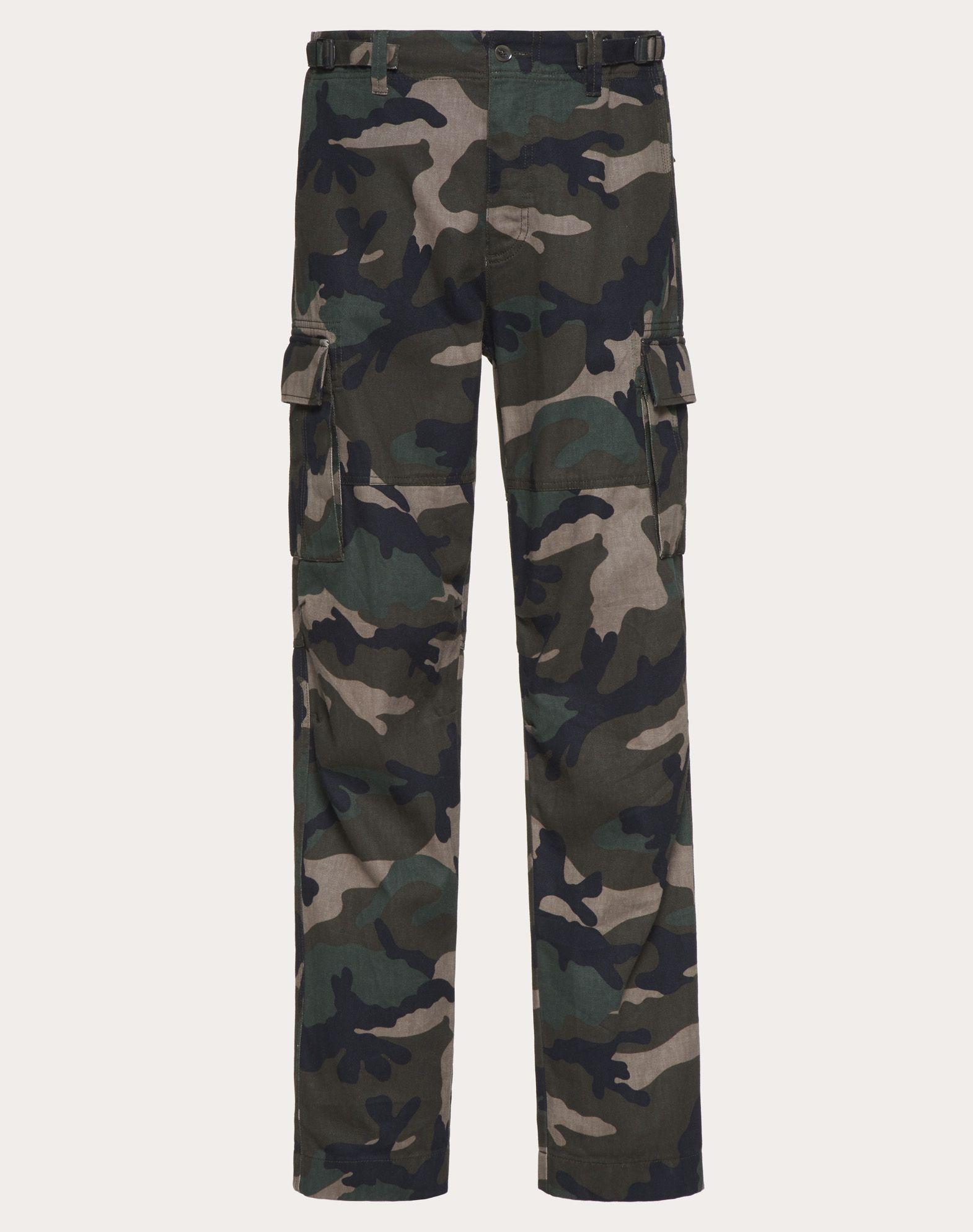 VALENTINO UOMO Camouflage cargo pants Trousers U f