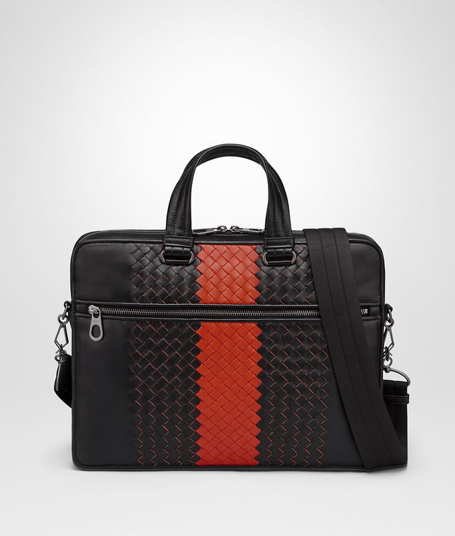 BOTTEGA VENETA NERO INTRECCIATO NAPPA BRIEFCASE Business bag Man fp