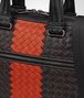 nero intrecciato nappa briefcase Back Detail Portrait
