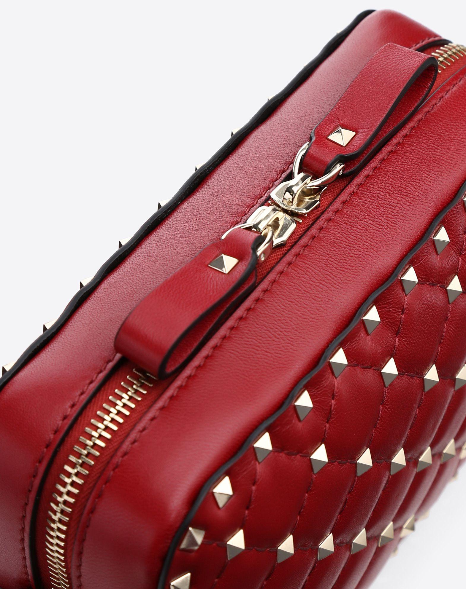 VALENTINO GARAVANI Rockstud Spike Cross Body Bag CROSS BODY BAG D b
