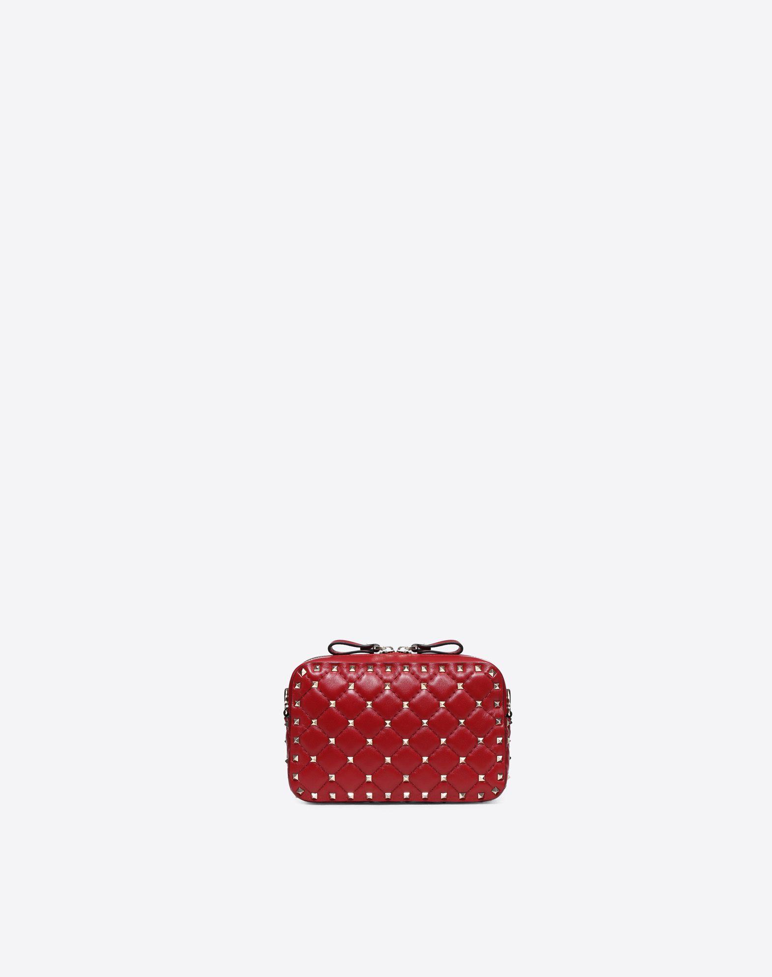 VALENTINO GARAVANI Rockstud Spike Cross Body Bag CROSS BODY BAG D d