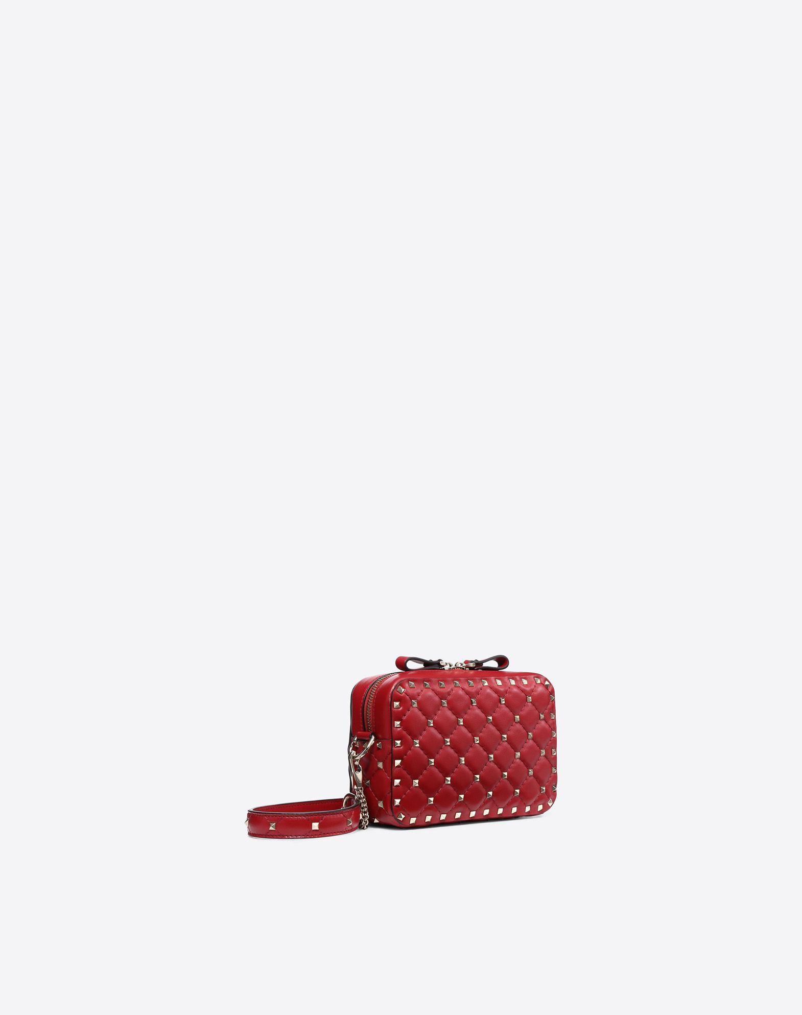 VALENTINO GARAVANI Rockstud Spike Cross Body Bag CROSS BODY BAG D r