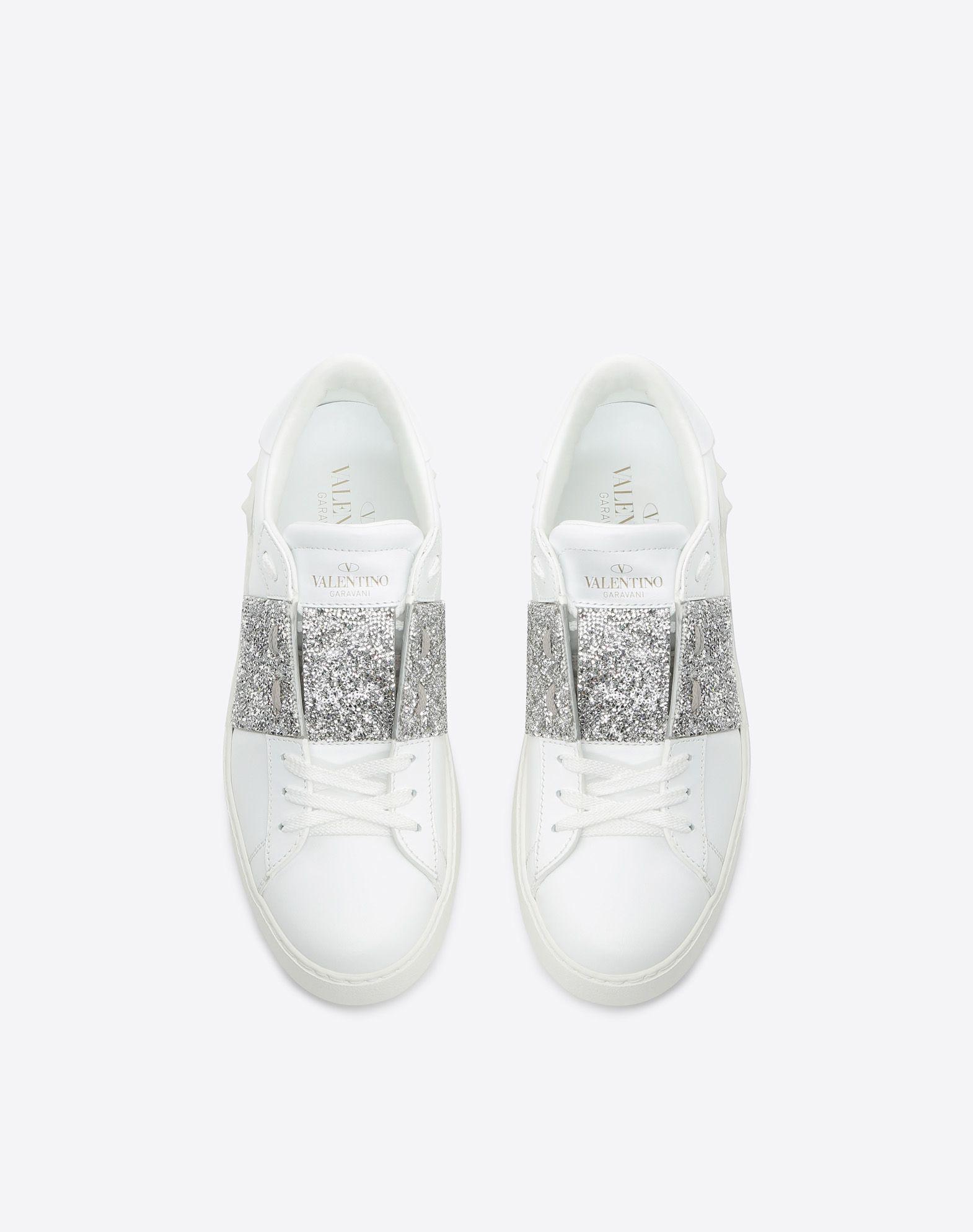VALENTINO GARAVANI Open Sneaker LOW-TOP SNEAKERS D e