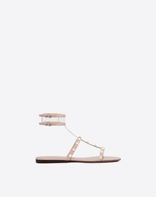 VALENTINO GARAVANI FLAT SANDALS D See-through flat sandal f