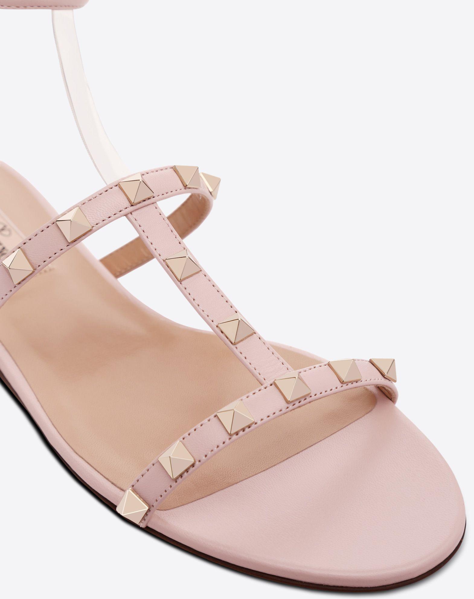 VALENTINO GARAVANI See-through flat sandal FLAT SANDALS D b
