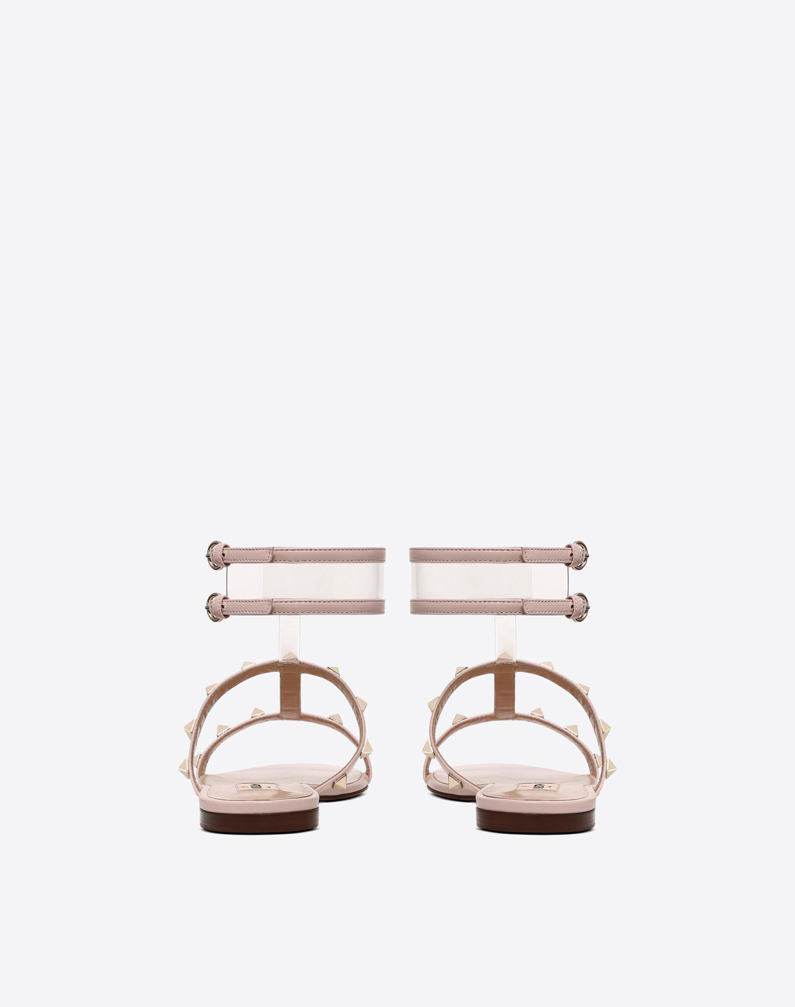 VALENTINO GARAVANI See-through flat sandal FLAT SANDALS D d