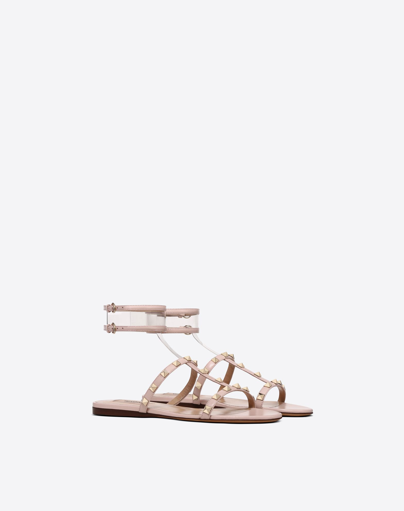 VALENTINO GARAVANI See-through flat sandal FLAT SANDALS D r