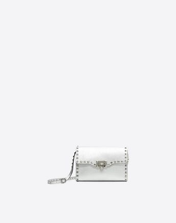 VALENTINO GARAVANI CROSS BODY BAG D Rockstud Small Cross Body Bag f