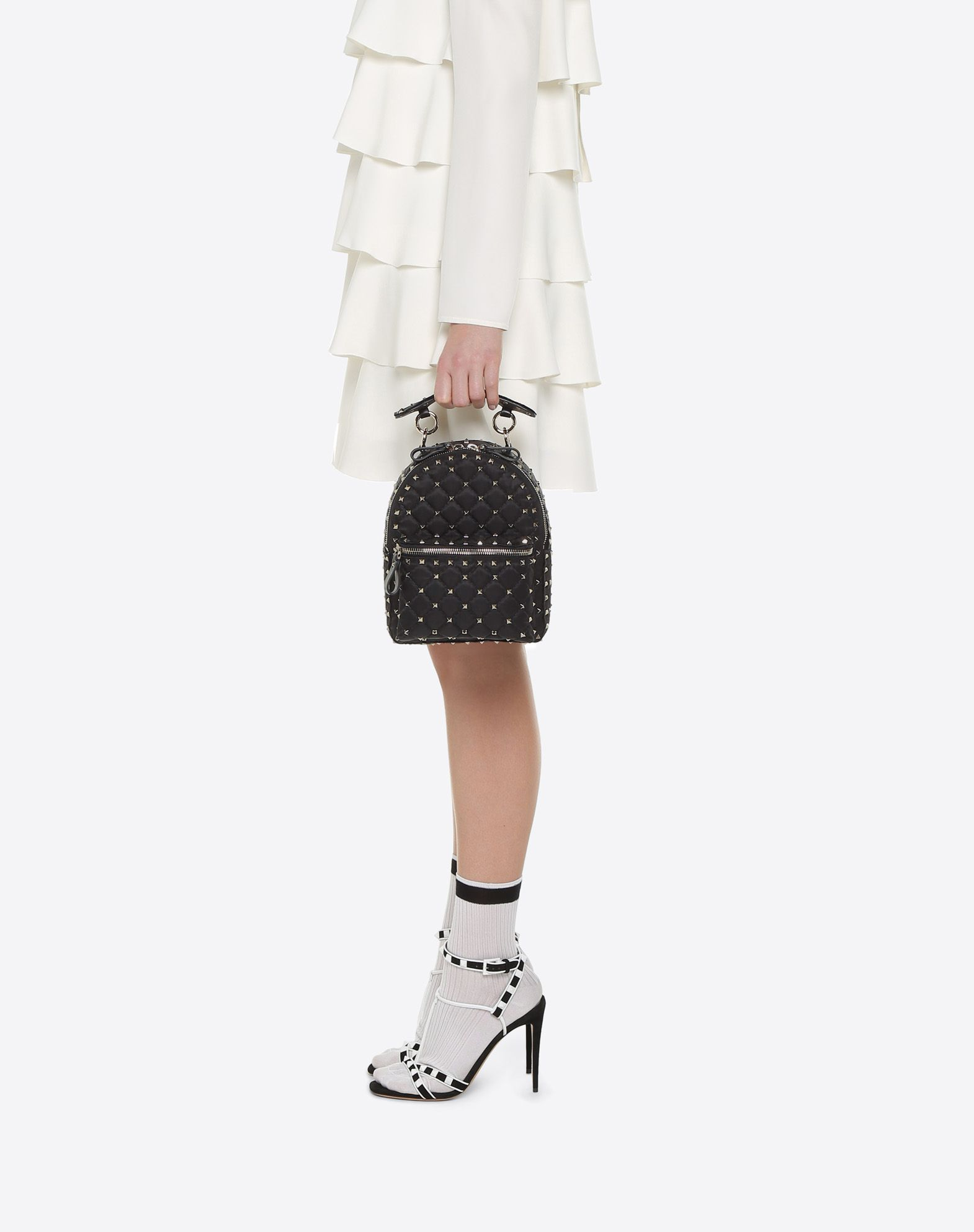 VALENTINO GARAVANI Rockstud Spike Mini Backpack Backpack D a