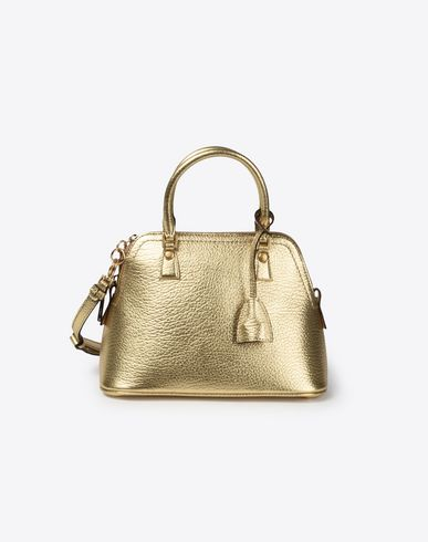 MAISON MARGIELA Gold mini 5AC Handbag D f