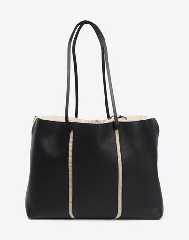 MAISON MARGIELA Leather tote bag Tote Woman f