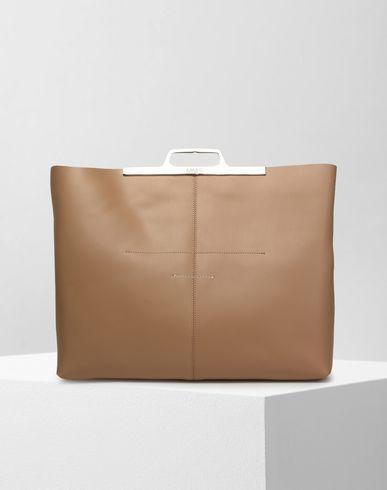 MM6 MAISON MARGIELA Clutch Woman Calfskin tote bag f