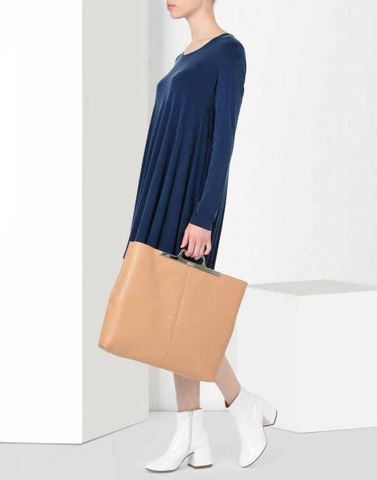 MM6 MAISON MARGIELA Calfskin tote bag Clutch [*** pickupInStoreShipping_info ***] b
