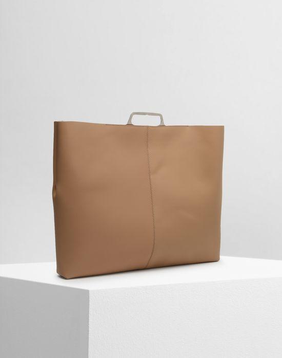 MM6 MAISON MARGIELA Calfskin tote bag Clutch [*** pickupInStoreShipping_info ***] r