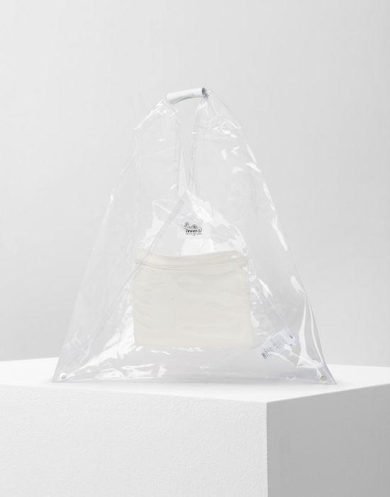 a01d630bd866 MM6 MAISON MARGIELA PVC Japanese tote bag Handbag       pickupInStoreShipping info