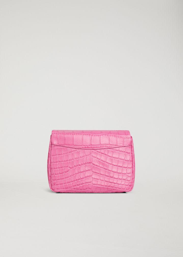 EMPORIO ARMANI Croc print leather crossbody bag Mini Bag Woman e