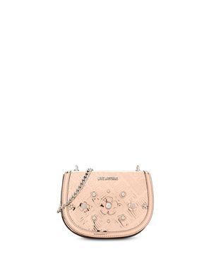 Moschino Womens Pouch On Sale, celeste, Leather, 2017, one size
