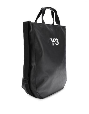 Y-3 Sporta di tela E Y-3 Logo Tote Bag r
